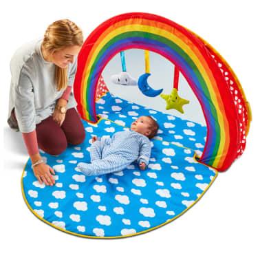 Worlds Apart Piscina de bolas Pop-up Rainbow multicolor 100x76x30 cm[8/10]