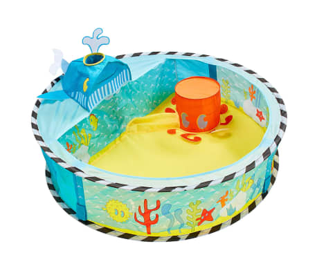 Worlds Apart Piscina de bolas Pop-up Ocean multicolor 80x80x20 cm[1/5]