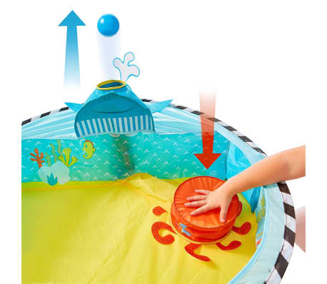 Worlds Apart Piscina de bolas Pop-up Ocean multicolor 80x80x20 cm[2/5]