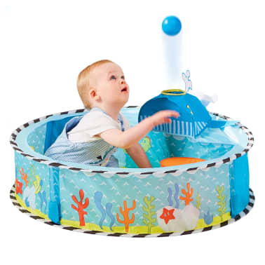 Worlds Apart Piscina de bolas Pop-up Ocean multicolor 80x80x20 cm[3/5]
