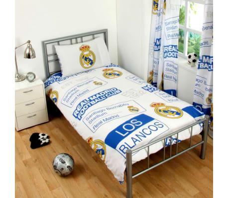 Real Madrid Påslakanset Bäddset 135x200 + 50x75cm White[1/1]