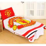 Manchester United Påslakanset Bäddset 135x200 + 50x75cm White