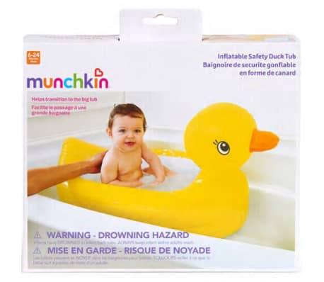 Munchkin Baignoire en forme de canard de sécurité gonflable[4/4]