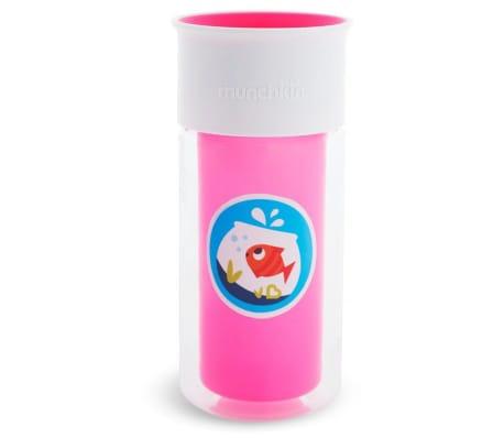 Munchkin Vaso aislado personalizado Miracle 360° rosa