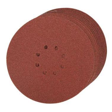 10 disques abrasifs perforés 8 trous autoagrippants d. 225 mm grain 60[1/1]