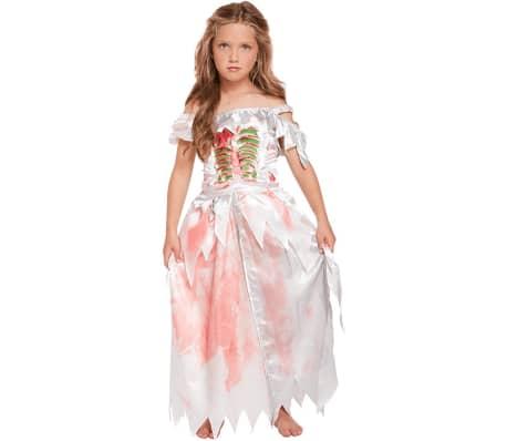 Zombiekjole, Maskerade - Halloween - 4-6 år