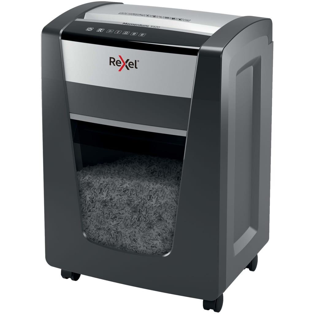 Rexel Tocător de hârtie Momentum X420 P4 poza 2021 Rexel