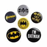 Batman, 6x Pins