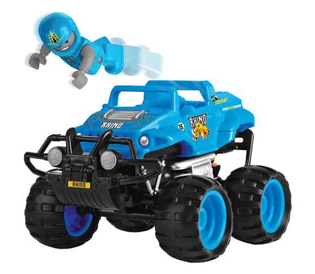 Monster Smash-Ups Coche teledirigido Rhino azul TY5873C-1