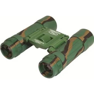 Highlander verrekijker Dartmoor 10 x 25 - camouflage Leger Groen[6/6]