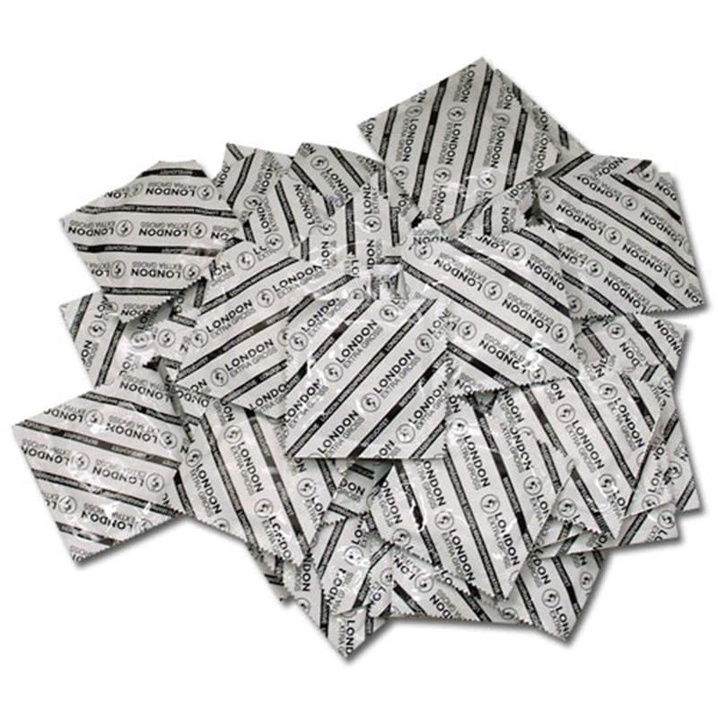 Afbeelding van 100 Extra grote condooms