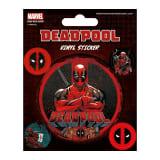 Deadpool, Autocollants en vinyle