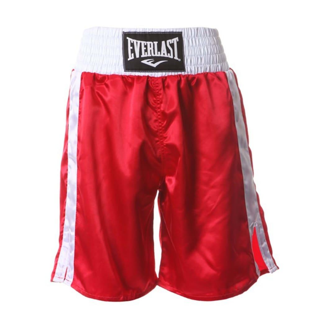 EVERLAST bokseshorts Pro rød L