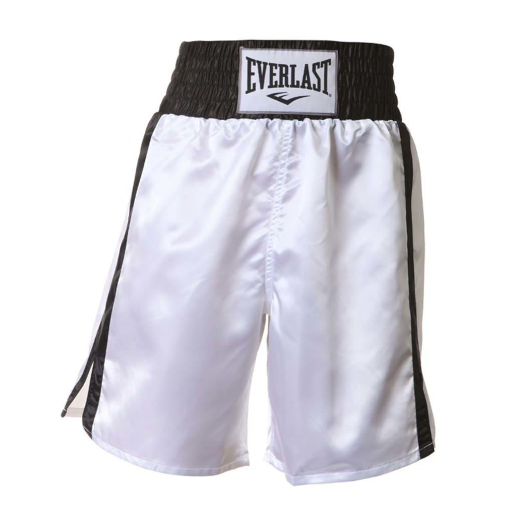 EVERLAST Boxningsshorts Thai vit och svart XL