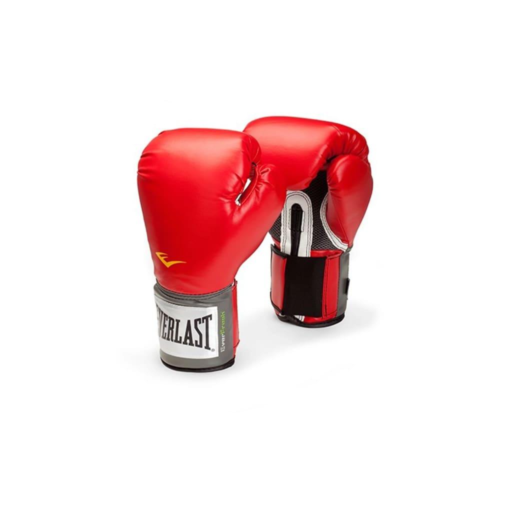 """EVERLAST Mănuși de antrenament """"Pro Style"""" 450 gr, roșu imagine vidaxl.ro"""
