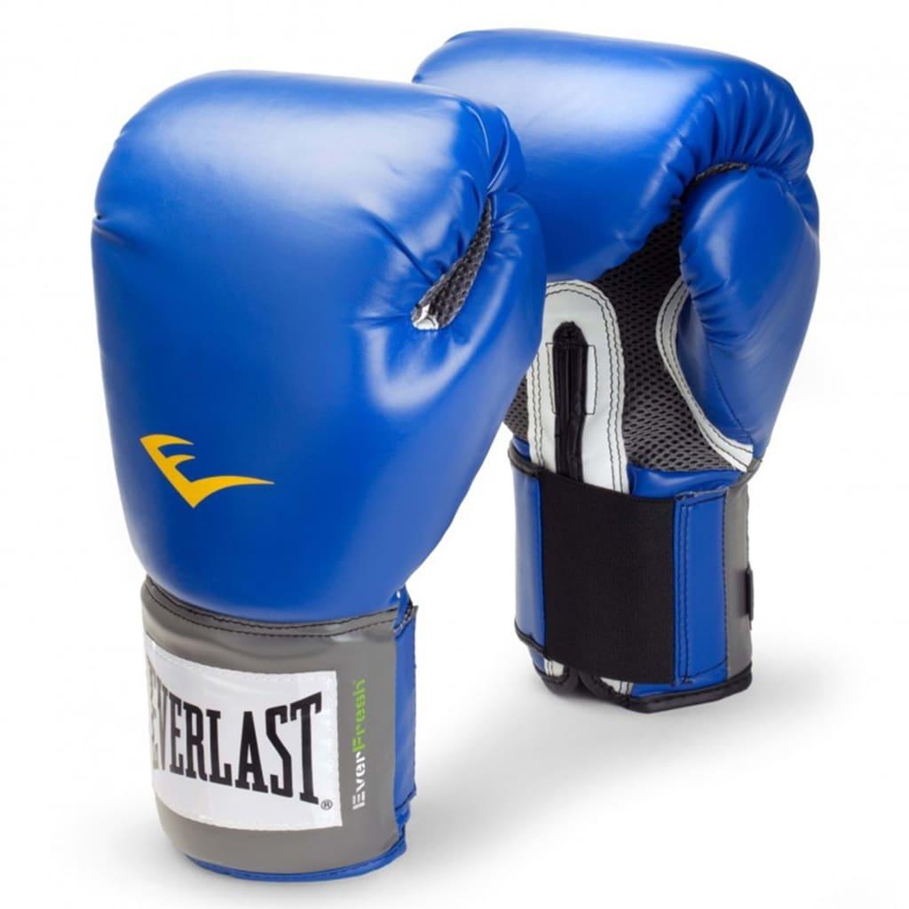 """EVERLAST Mănuși de antrenament """"Pro Style"""" 300 gr, albastru imagine vidaxl.ro"""