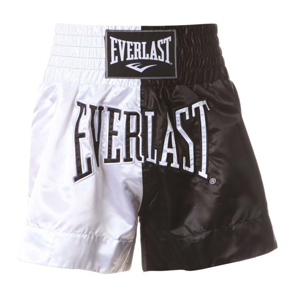 EVERLAST bokseshorts Thai str. XL hvid og sort