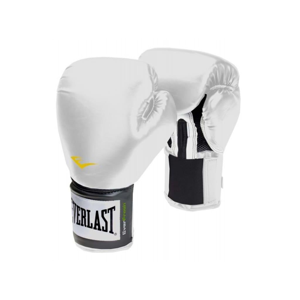 EVERLAST Mănuși de antrenament Pro Style, alb, 400 g imagine vidaxl.ro