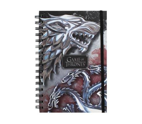 Game of Thrones Anteckningsblock - Varg & Drake[1/2]