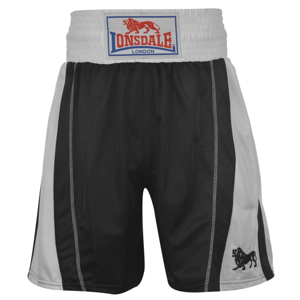 LONSDALE Pantaloncini da Boxe XXS Neri