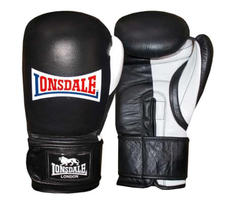 LONSDALE Sparringhandskar Pro Safe svart 16oz