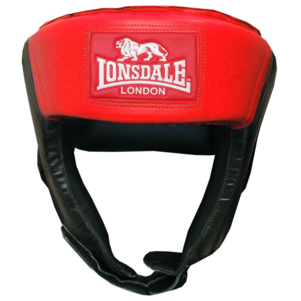 LONSDALE Caschetto da Boxe Aperto L Rosso