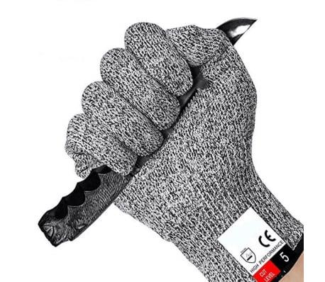 1 Par de guantes anticorte, protecci