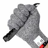 Paire de gants anti coupures, Protection de niveau 5 conforme