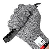 1 Paire de gants anti coupures, Protection de niveau 5 conforme