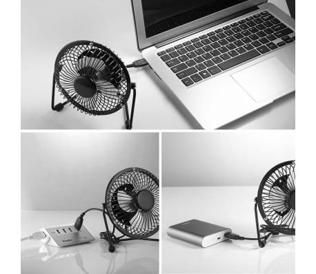 Ventilateur USB pour le bureau /desktop | Faible bruit, 2 vitesses, 36[6/7]