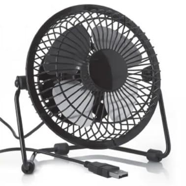 Ventilateur USB pour le bureau /desktop | Faible bruit, 2 vitesses, 36[1/7]