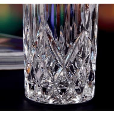 Vasos altos de cristal | 4 Unidades | Para whisly, cocktails, etc. | 4[6/7]
