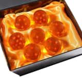Dragon Ball Z 7 Cristaux avec Gift Box All Stars | 5,7 cm | Ensemble d