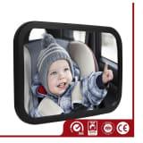 Rcksitzspiegel Fr Babys/kleine Kinder, mit 2 Befestigungsoptionen