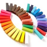 Haarkreide-Set mit 36 Farben fr den Heimgebrauch, ungiftig, auswasch