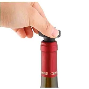 Pompe vin avec 2 bouchons | Le moyen le plus facile de prserver v[6/7]