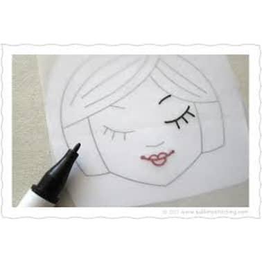 100 Blatt Transparentpapier DIN A4 100 g/qm Super Qualitt[6/7]