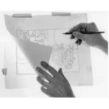 100 Blatt Transparentpapier DIN A4 100 g/qm Super Qualitt[7/7]