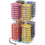 Porte Capsules - Distributeur Prsentoir Rotatif Pour 64 Capsules Tas