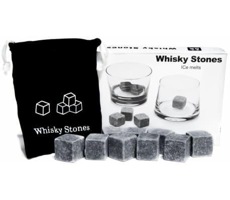 Piedras de Esteatita Natural (9 Unidades) para Enfriar el Whiskey Vino
