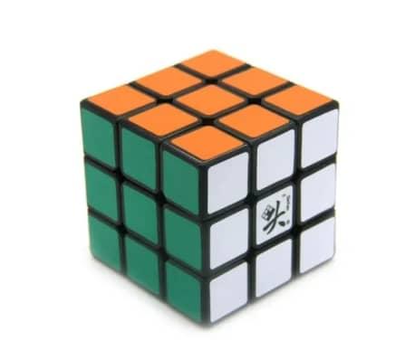 Mgico Cubo 3x3x3 Banda Negra, Cubo Mgico de 55mm de  Dayan ZhanChi