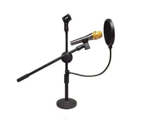 Studio Mikrofon Mikro Windschutz Popfilter/ Drehhalterung, 360 Grad, f[6/7]
