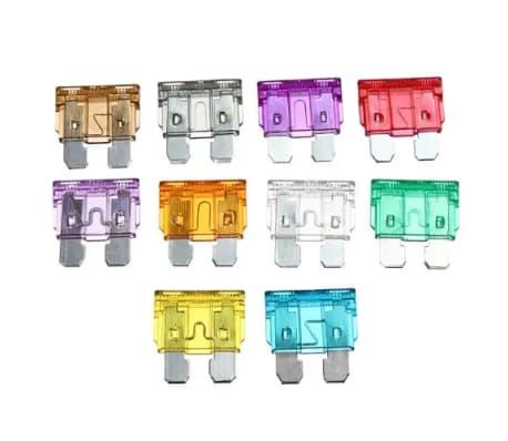 100 tlg KFZ-Sicherungen Set mini (8 Werte und Sicherungszieher)[5/7]