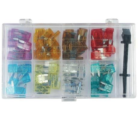 100 tlg KFZ-Sicherungen Set mini (8 Werte und Sicherungszieher)[1/7]