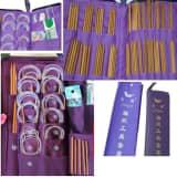 166 Pices Ensemble De Bambou Crochet Carbonis, Crochets 25cm 36cm