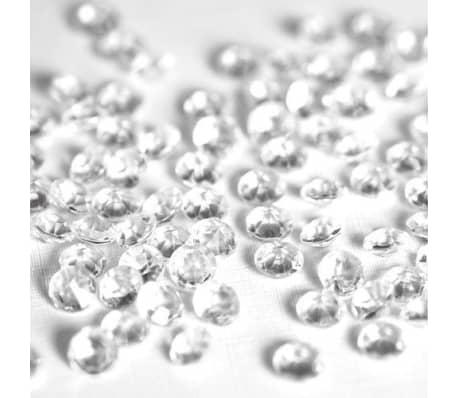 1000 Confettis Clairs 6,5 Mm Mariage Dcoration De Table Saupoudre[5/7]