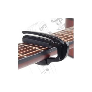 Capo Pour Guitare lectrique Acoustique Tuba Dclenchement Rapide[2/7]