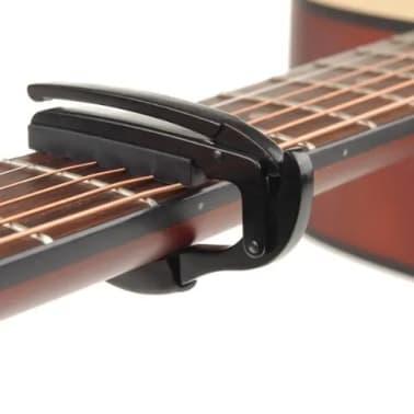 Capo Pour Guitare lectrique Acoustique Tuba Dclenchement Rapide[4/7]