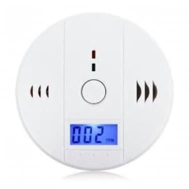 Dtecteur De Monoxyde De Carbone Avec Alarme cran LCD Blanc[4/7]
