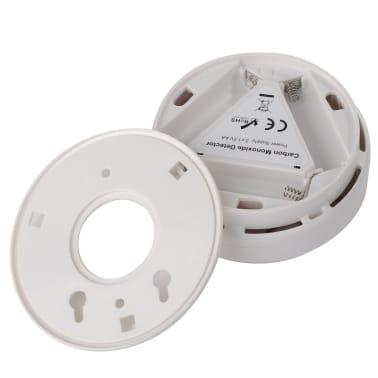Dtecteur De Monoxyde De Carbone Avec Alarme cran LCD Blanc[6/7]